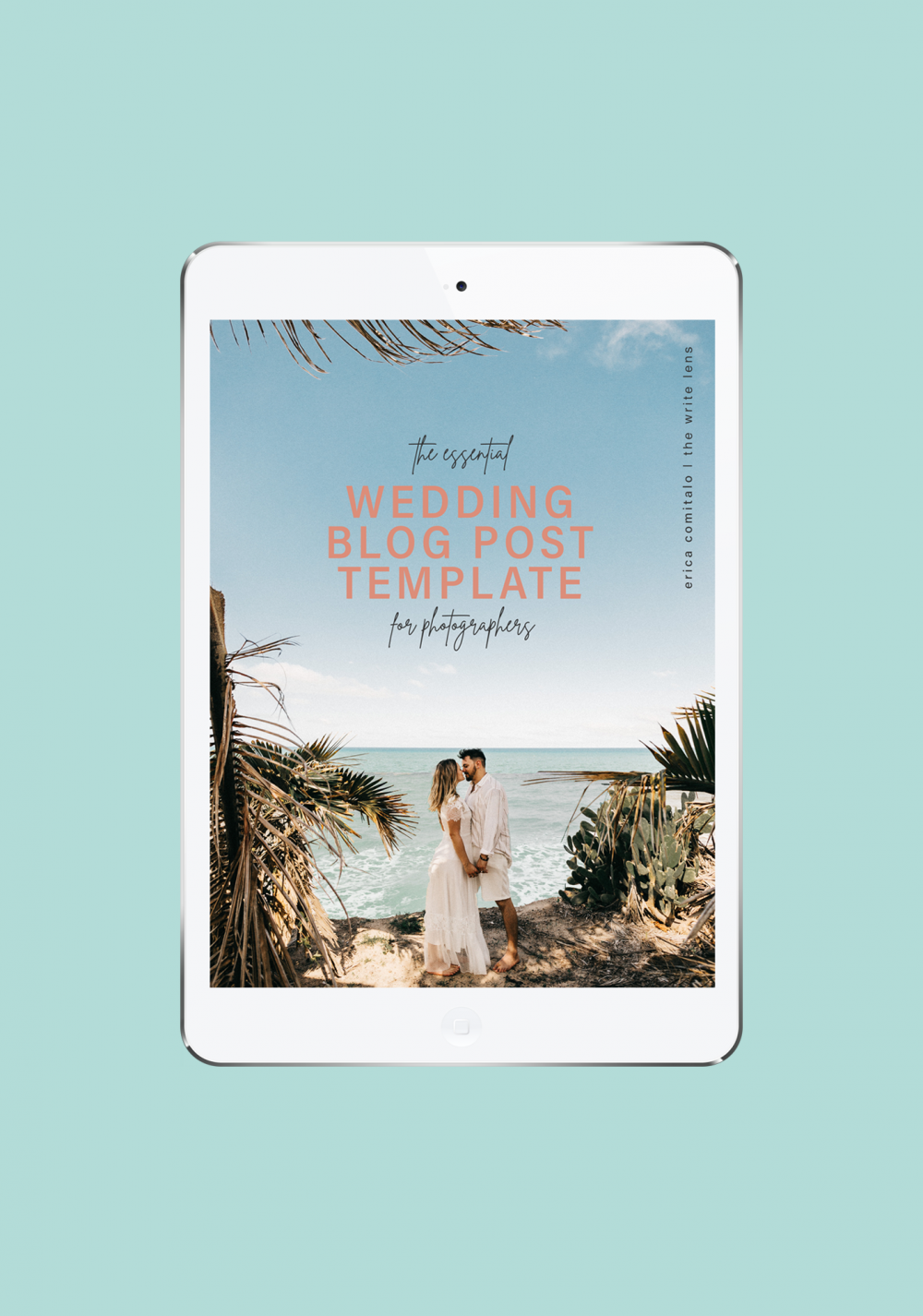 introducing the wedding blog post template for photographers