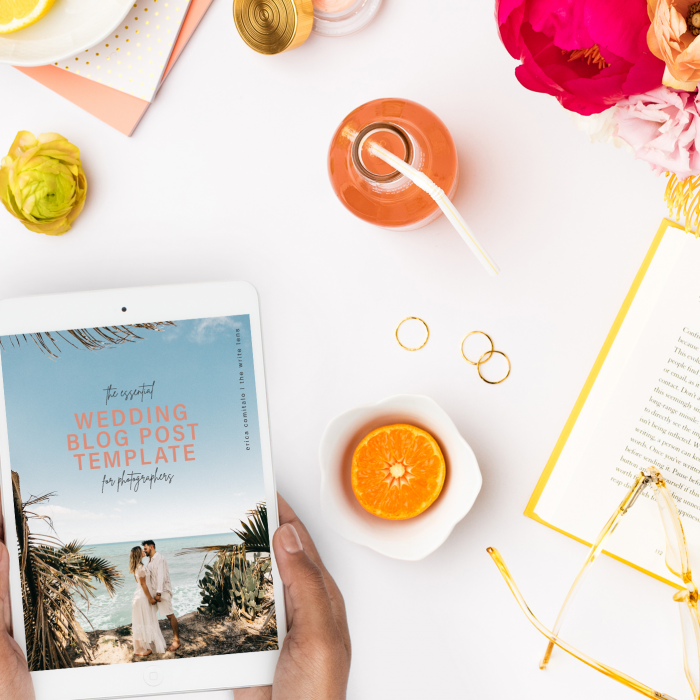 The Essential Wedding Blog Post Template