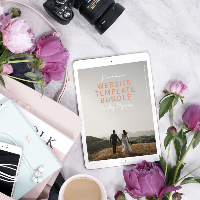 The Website Template Bundle for Wedding Photographers