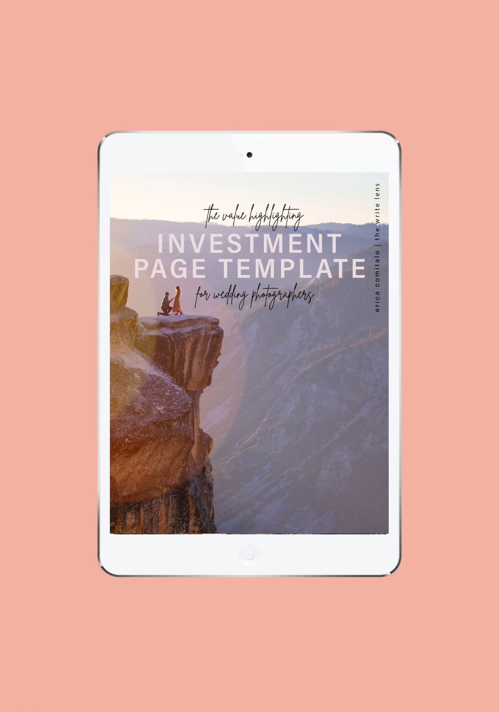 The Investment Page Template Cover