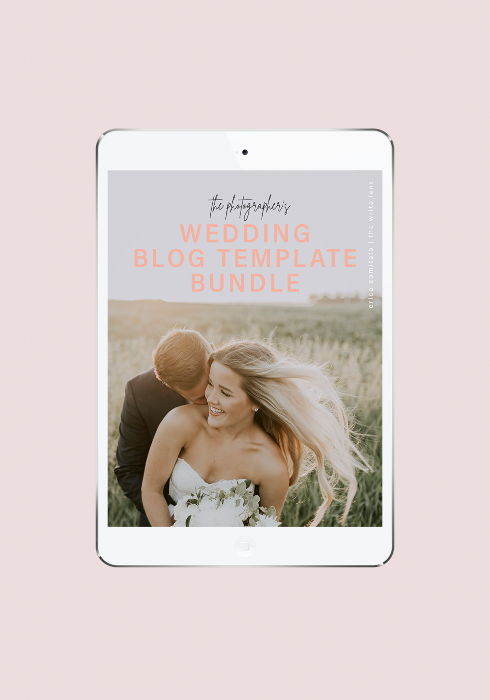 The Wedding Blog Template Pack Image 1