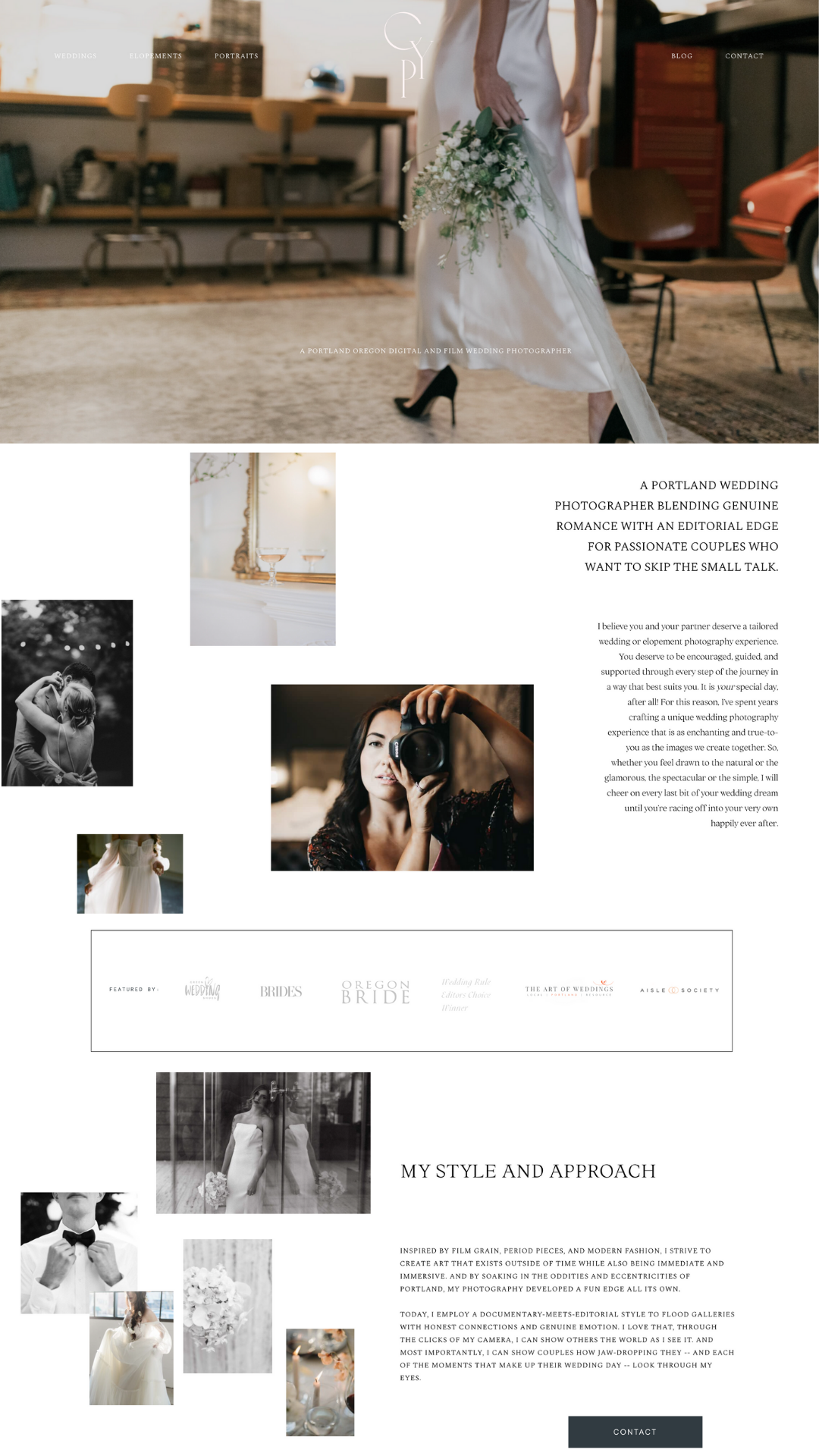Casi Yost Photography copywriting for photographers client of The Write Lens